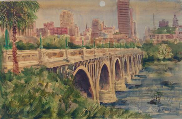 Gervais Street Bridge I